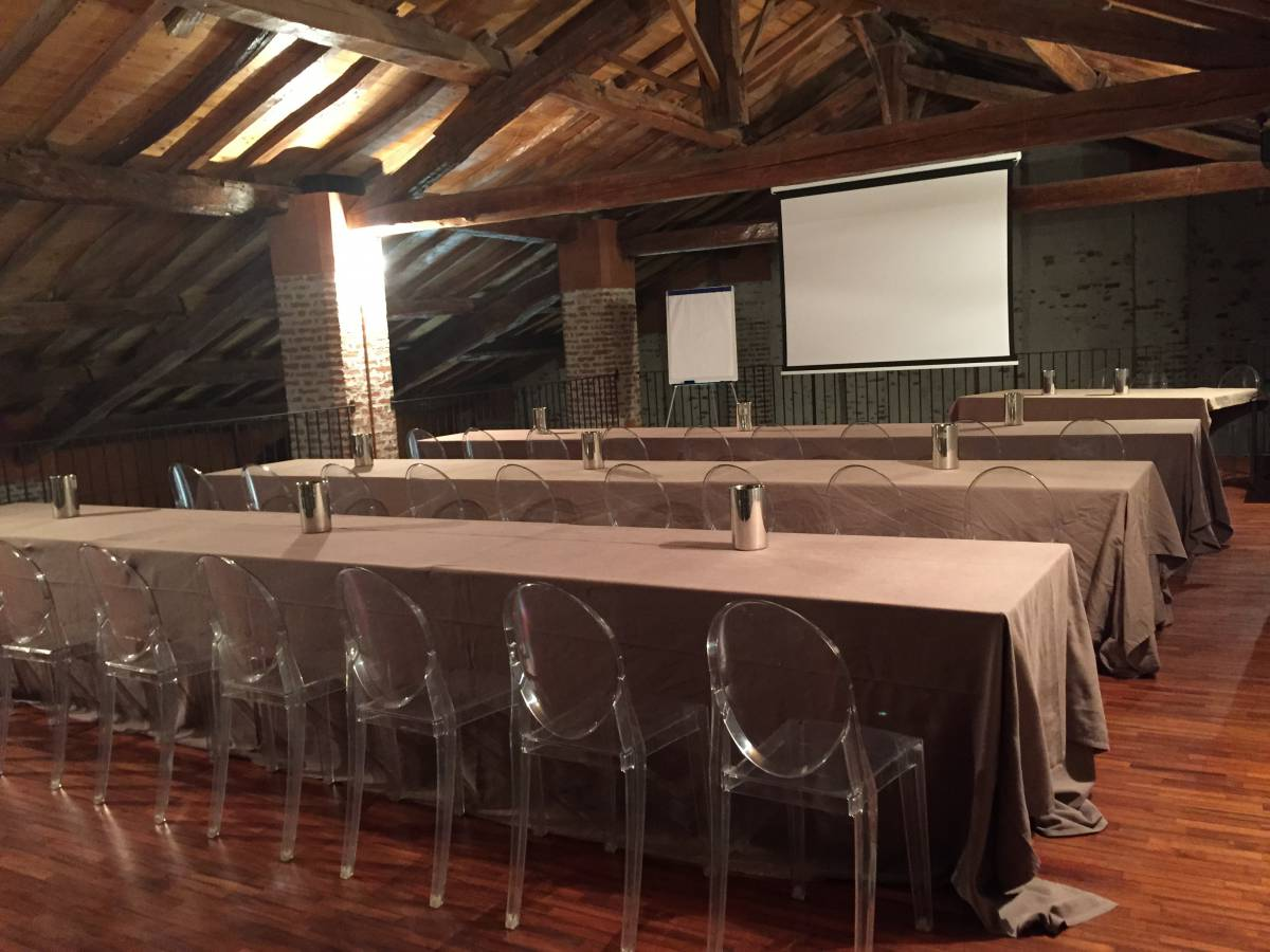 Sala specchi e soppalco   sale congressi   relais convento cremona